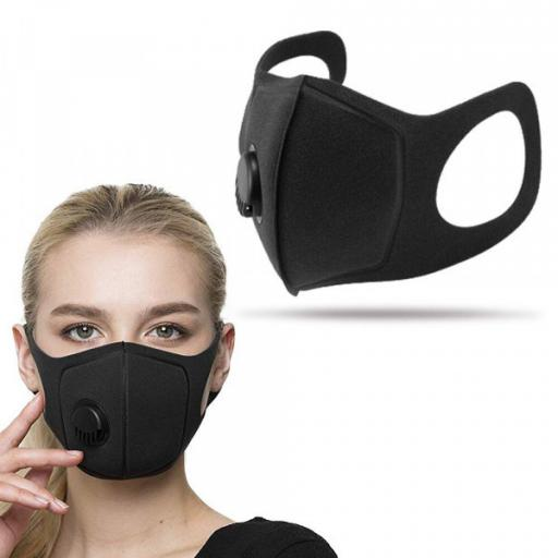 Reusable Mask With Single Valve (Pack of 4)