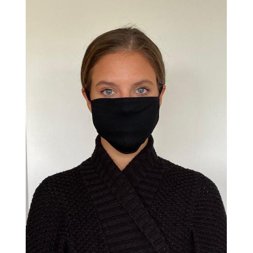 Reusable 3 layered Cotton Mask (2 Pack)