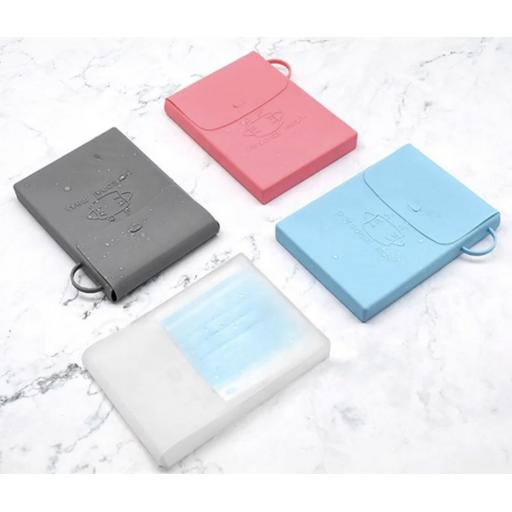 New silicone face mask case