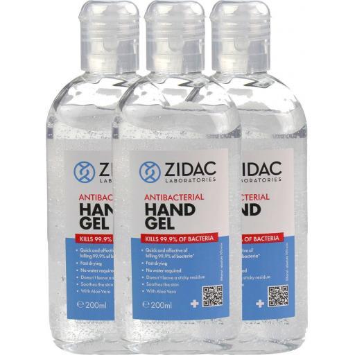 Hand Gel 200 ml (pack of 4) £2.50 each